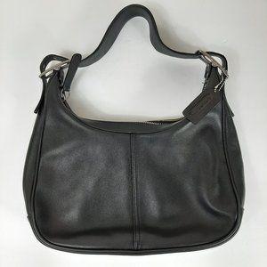 Coach Black Leather 9342 Soho Hobo Small Purse Sho